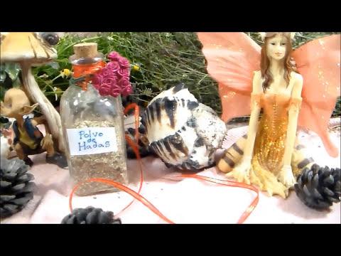 Como Hacer Polvo de Hadas-  Wicca Faery