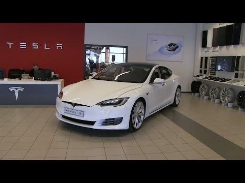 Tesla Model S 70D facelift solid white