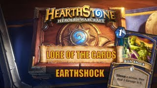 Hearthstone | Lore of the Cards | Rehgar Earthfury | Earthshock