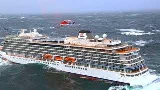 Top 10 Large Cruise Ships In Perfect Storm! Big Dangerous Waves at Sea
