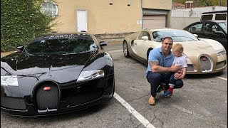 Sunset GT Supercar/Hypercar Event & Driving the Bugatti Veyron