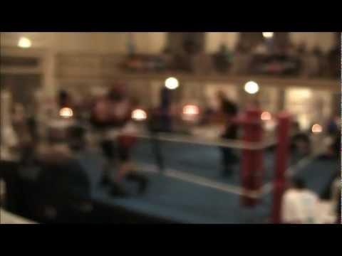 Rhys Williams (Blue) V FEZ (Red) - JAB Boxing 6/4/2012