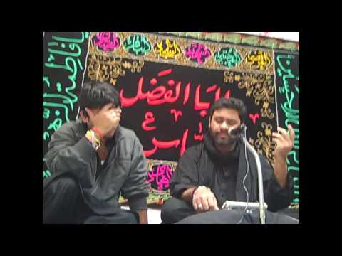 Ghabraye Gi Zainab By Noha Khawn Asgher Hussain Anjuman-e-hussaini 2012-13 video