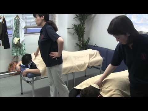 マッサージスクール日本ボディーケア学院 首コリ・肩コリの解消のマッサージ
