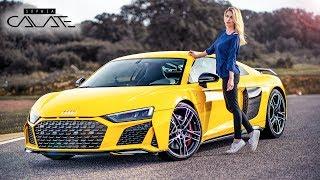 2019 Audi R8 Facelift | Erste Fahrt & Launch Control