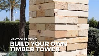 TIMBERRR!!! Jenga With A Twist. The Ultimate DIY Jenga Drinking Game