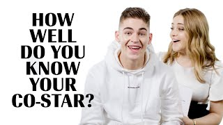 Josephine Langford and Hero Fiennes-Tiffin Play 'How Well Do You Know Your Co-Star?' | Marie Claire