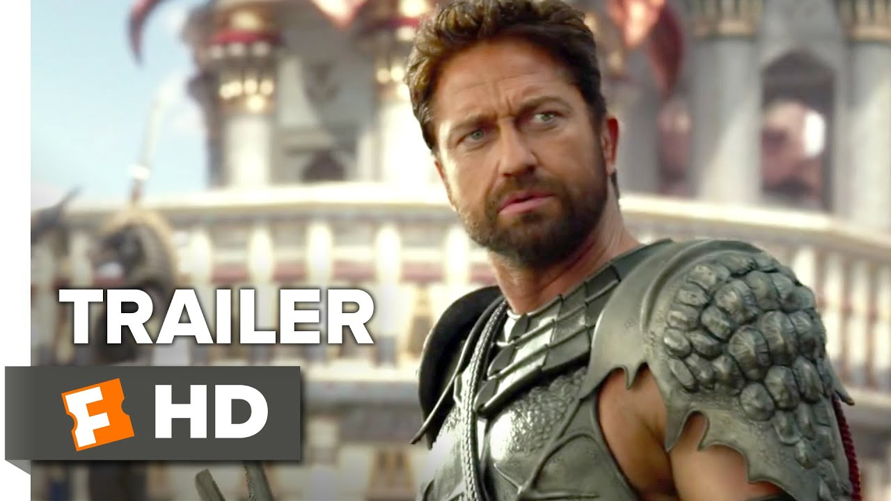 Gods of EgyptOfficial International Trailer #1 (2016) - Gerard Butler, Brenton Thwaites Movie HD