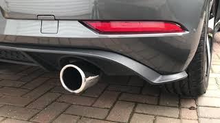 Golf GTI MK7.5 exhaust sounds