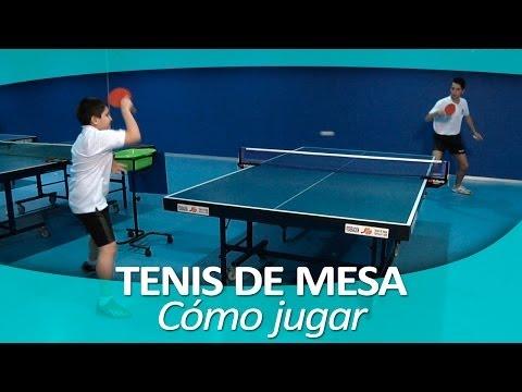TENIS DE MESA 4. Cómo Jugar Al Ping Pong