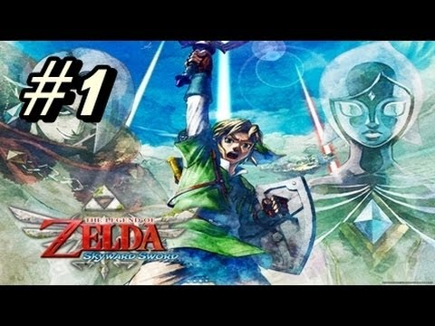 Let's Play The Legend of Zelda Skyward Sword - Part 1 & (GIVEAWAY)