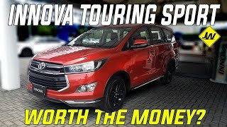 2019 Toyota Innova Touring Sport review  is it better than the Innova E and the Innova G Philippines