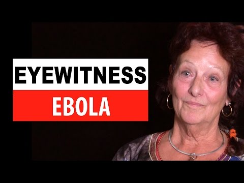 Reine Lebel, a psychologist, talks about her work with Ebola patients