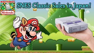 SNES Classic Japan Sales! Much More Stock Than NES Classic?