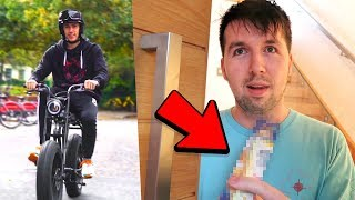 I CYCLED across LONDON to give CALLUX...