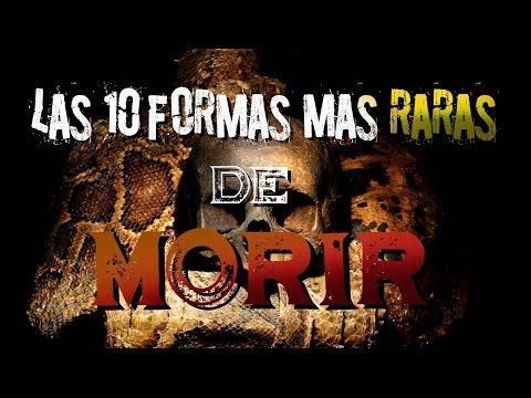 LAS MUERTES MÁS RARAS DEL MUNDO | PARTE 1