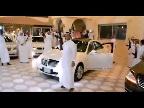 Arab Wedding Celebration With Guns video