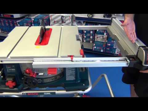 Bosch 4100 (4100-09) tablesaw
