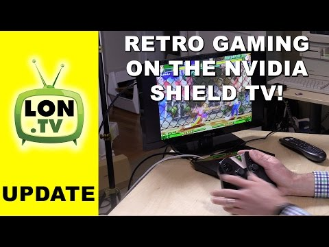 Retro Emulation on the Nvidia Shield TV ! - PPSSPP . Emulation front end. MAME. and more
