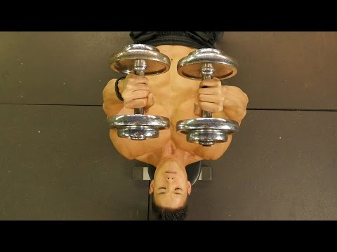 Insane Dumbbell Chest Workout Image 1