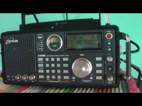 15700 kHz China Radio International in English Language (Shortwave 19 meters band)