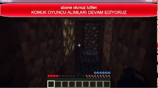 Minecraft TÜRKİYE # Adventure Map #Seri2