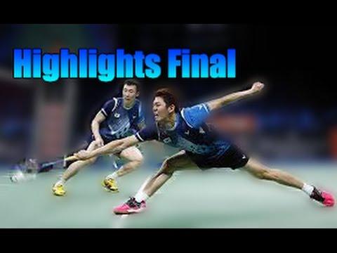 Highlights Final Lee Yong dae/Yoo Yeon Seong vs Li Junhui/Liu Yuchen -Badminton Asia Championships