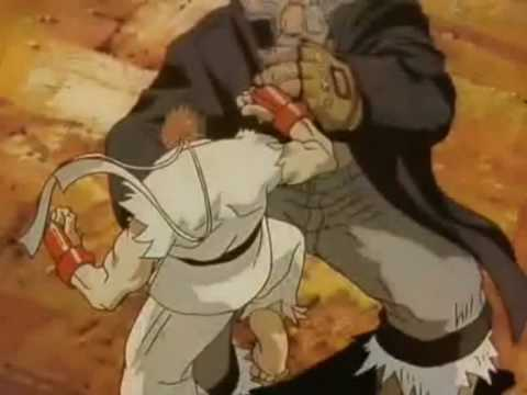 street fighter amv - try again remix