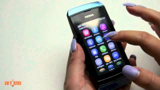 Feature Phone Nokia Asha 305 - Resenha Brasil