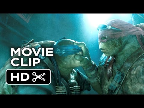 Teenage Mutant Ninja Turtles Movie Clip - Sneaking In (2014) - Ninja Turtle Movie Hd video