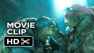 Teenage Mutant Ninja Turtles Movie CLIP - Sneaking In (2014) - Ninja Turtle Movie HD