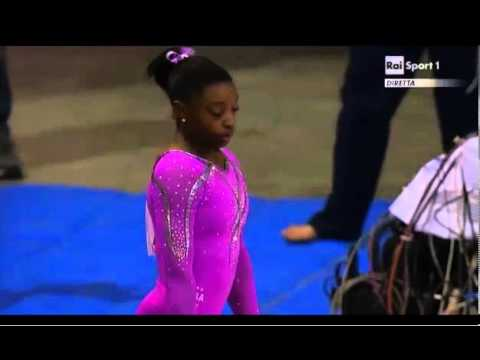 Simone Biles (USA) AA VT 2013 Jesolo - AA - 15.90!