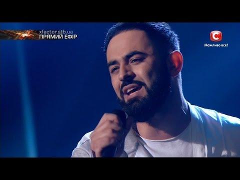 Севак Ханагян  – Вдвоём(Наргиз feat. Фадеев)  Шестой прямой эфир «Х-фактор-7» (10.12.2016)