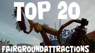 TOP 20 Fairgroundattractions Europe (selected by Xtremerides.nl)