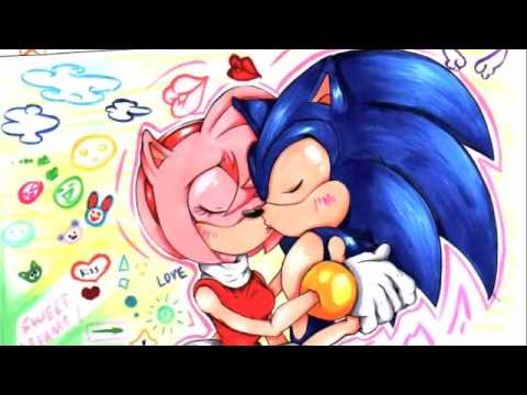 ~:*Sonic & Amy Rose 4ever love:Halo*:~