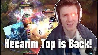 Hashinshin: Hecarim Top IS BACK! + Mage Items are still OP! - Streamhighlights