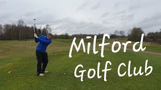 Milford course vlog with the Surrey and Hampshire golf buddies