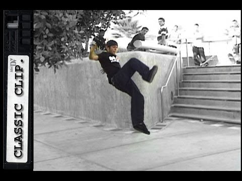 Adam Alfaro Vs. Metro Rail Skateboard Classic Slam #55 Fail