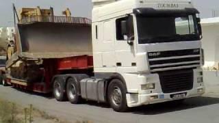 DAF XF FTT 530 ,D10N, Heavy haulage, Cyprus 00:37