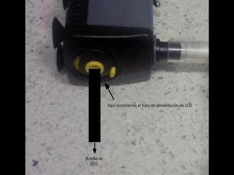 Construye tu difusor de CO2 (100x100 efectivo)