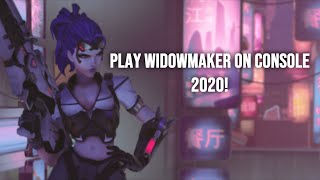 How to play Widowmaker on CONSOLE in 2020 (Settings, tips, improve aim)