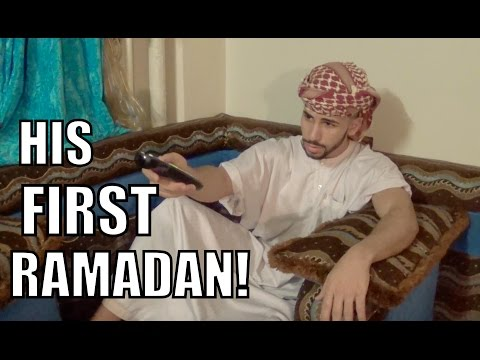 HIS FIRST RAMADAN!! (SKIT)