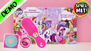 My little Pony Adventskalender deutsch auspacken | Wir öffnen alle 24 Türchen | Styling & Make up
