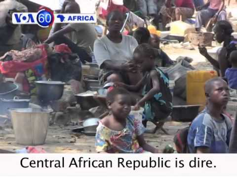 U.N. warns the situation in Central African Republic is dire - VOA60 Africa 01-07-2014