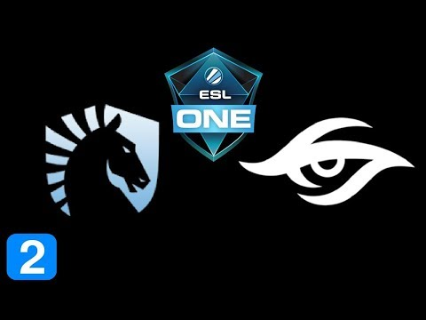Liquid vs Secret Game 2  ESL One Katowice 2018 powered by Intel Highlights Dota 2