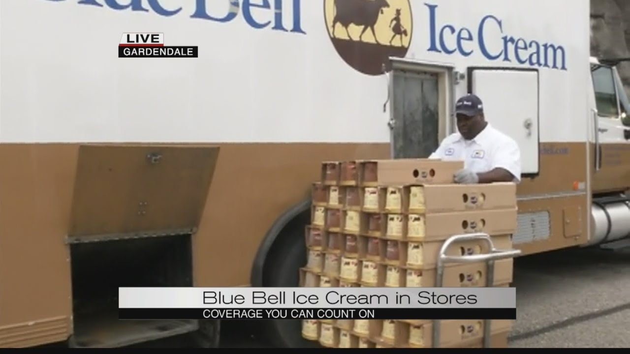 Blue Bell is back