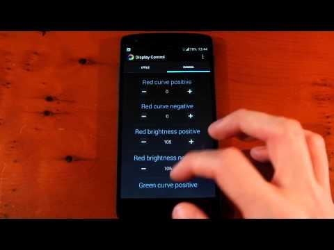 Nexus 5 - Franco's Display Control - Gamma - Review