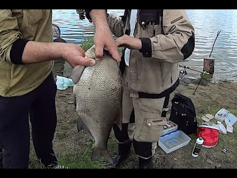 летняя рыбалка на леща 2015
