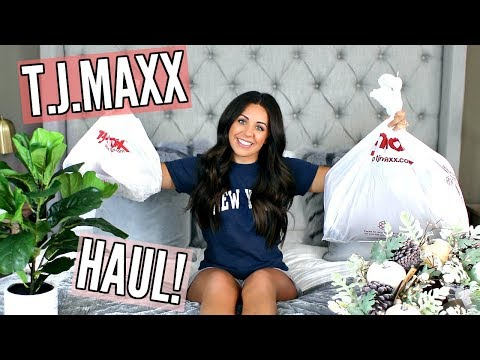 HAUL! T.J.MAXX FALL HOME DECOR!