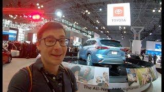 НОВЫЙ ХАЙЛЕНДЕР 2020! Детальный обзор Toyota Highlander // Нью-Йорк 2019